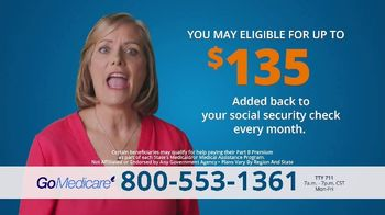 GoMedicare TV Spot, 'Get Benefits'