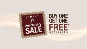La-Z-Boy Anniversary Sale TV Spot, 'Buy One, Get One Free Recliners: $699' - Thumbnail 5