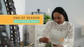 Ashley HomeStore End of the Season Mattress Sale TV Spot, 'Tempur-Pedic' - Thumbnail 2