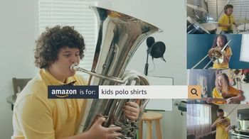 Amazon TV Spot, 'Ready for School: Polo Shirts' - Thumbnail 6