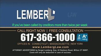 Lemberg Law LLC TV Spot, 'Legal Alert: Debt Collectors' - Thumbnail 9