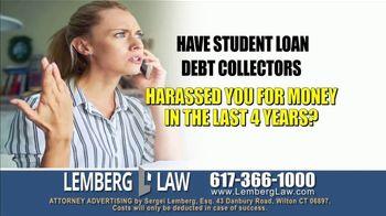 Lemberg Law LLC TV Spot, 'Legal Alert: Debt Collectors' - Thumbnail 1