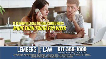 Lemberg Law LLC TV Spot, 'Legal Alert: Debt Collectors' - Thumbnail 3
