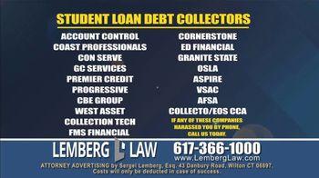 Lemberg Law LLC TV Spot, 'Legal Alert: Debt Collectors' - Thumbnail 4