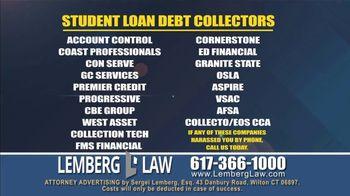 Lemberg Law LLC TV Spot, 'Legal Alert: Debt Collectors' - Thumbnail 5
