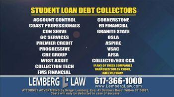 Lemberg Law LLC TV Spot, 'Legal Alert: Debt Collectors' - Thumbnail 6