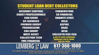 Lemberg Law LLC TV Spot, 'Legal Alert: Debt Collectors' - Thumbnail 7