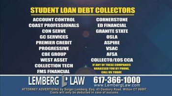 Lemberg Law LLC TV Spot, 'Legal Alert: Debt Collectors' - Thumbnail 8