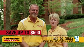 CertaPro Painters TV Spot, 'Transform Your Home: Save Up to $500' - Thumbnail 2