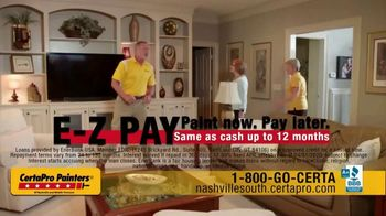 CertaPro Painters TV Spot, 'Transform Your Home: Save Up to $500' - Thumbnail 3