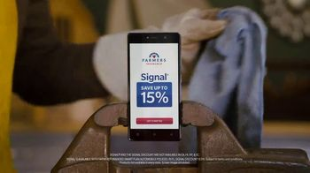 Farmers Insurance TV Spot, 'Save With Signal' Featuring J.K. Simmons - Thumbnail 7