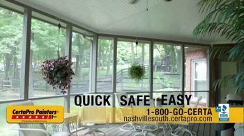 CertaPro Painters TV Spot, 'Transform Your Home: Safe' - Thumbnail 3