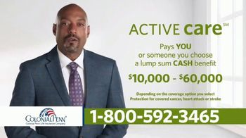 Colonial Penn Active Care TV Spot, 'Unexpected Costs'