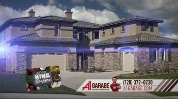 A1 Garage Door Service Garage Door Summer Sale TV Spot, 'King Soopers Gift Card' - Thumbnail 3