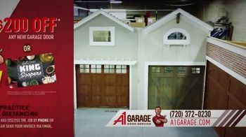 A1 Garage Door Service Garage Door Summer Sale TV Spot, 'King Soopers Gift Card' - Thumbnail 6