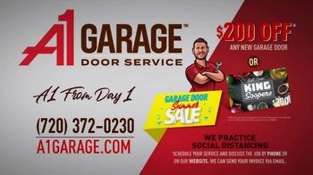 A1 Garage Door Service Garage Door Summer Sale TV Spot, 'King Soopers Gift Card' - Thumbnail 7