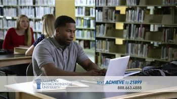 American InterContinental University TV Spot, 'Positive Impact' - Thumbnail 3