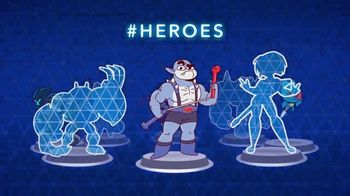 Cartoon Network Arcade App TV Spot, 'Squad-A-Thon: Heroic Figures'