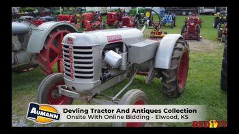 Aumann Vintage Power TV Spot, 'Devling Tractor and Antiques Collection Auction' - Thumbnail 2