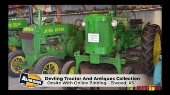 Aumann Vintage Power TV Spot, 'Devling Tractor and Antiques Collection Auction'