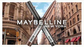Maybelline New York Brow Extensions Crayon TV Spot, 'Cejas en una barra' [Spanish] - Thumbnail 3