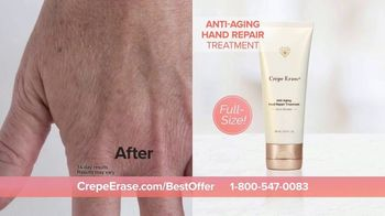 Crepe Erase TV Spot, 'Smoother, Younger-Looking Skin: $39.95' Featuring Jane Seymour - Thumbnail 10