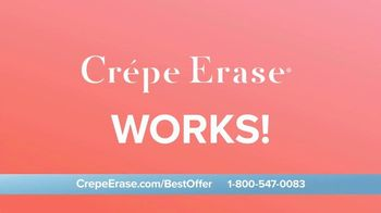 Crepe Erase TV Spot, 'Smoother, Younger-Looking Skin: $39.95' Featuring Jane Seymour - Thumbnail 4
