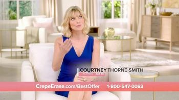 Crepe Erase TV Spot, 'Smoother, Younger-Looking Skin: $39.95' Featuring Jane Seymour - Thumbnail 5