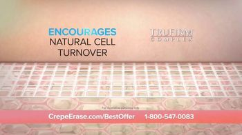 Crepe Erase TV Spot, 'Smoother, Younger-Looking Skin: $39.95' Featuring Jane Seymour - Thumbnail 6
