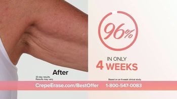 Crepe Erase TV Spot, 'Smoother, Younger-Looking Skin: $39.95' Featuring Jane Seymour - Thumbnail 7