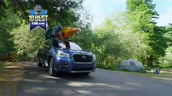 Subaru Summer TV Spot, 'The Great Outdoors: Full Line' [T2] - Thumbnail 7