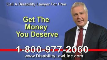 The Disability Law Line TV Spot, 'Money From Social Security'