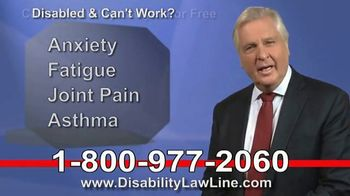 The Disability Law Line TV Spot, 'Money From Social Security' - Thumbnail 4