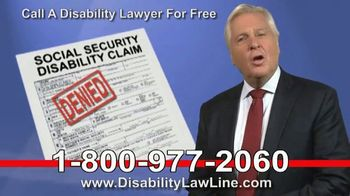 The Disability Law Line TV Spot, 'Money From Social Security' - Thumbnail 5