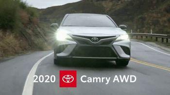 2020 Toyota Camry AWD TV Spot, 'Redefined Mid-Size Sedan' [T2] - Thumbnail 4