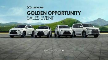 Lexus Golden Opportunity Sales Event TV Spot, 'Exploration' [T1] - Thumbnail 8