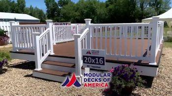 Modular Decks of America Summer Sale TV Spot, 'One Day Install' - Thumbnail 2