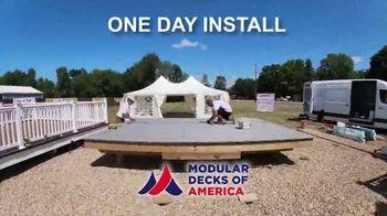 Modular Decks of America Summer Sale TV Spot, 'One Day Install' - Thumbnail 4
