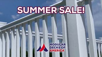 Modular Decks of America Summer Sale TV Spot, 'One Day Install' - Thumbnail 5