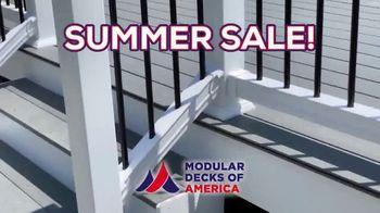 Modular Decks of America Summer Sale TV Spot, 'One Day Install' - Thumbnail 6