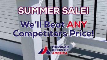 Modular Decks of America Summer Sale TV Spot, 'One Day Install' - Thumbnail 7