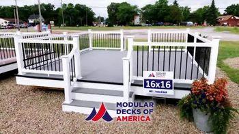 Modular Decks of America Summer Sale TV Spot, 'One Day Install' - Thumbnail 8