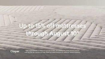 Casper Summer Sale TV Spot, 'The Coolest Mattress' - Thumbnail 3