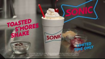 Sonic Drive-In Toasted S'mores Shake TV Spot, 'A Whole Marshmallow' - Thumbnail 9