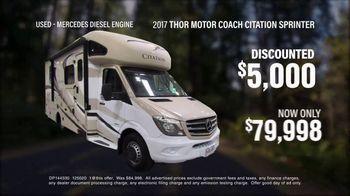 La Mesa RV TV Spot, 'Think: 2017 Thor Motor Coach Citation Sprinter'