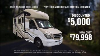 La Mesa RV TV Spot, 'Think: 2017 Thor Motor Coach Citation Sprinter' - Thumbnail 5