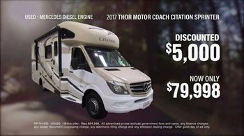 La Mesa RV TV Spot, 'Think: 2017 Thor Motor Coach Citation Sprinter' - Thumbnail 6