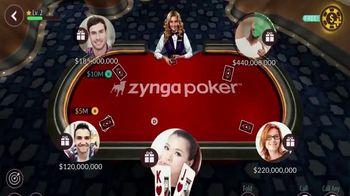Zynga Poker TV Spot, 'WPT: Millions of Users' Featuring Tony Dunst, Vince Van Patten - Thumbnail 3