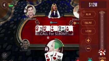 Zynga Poker TV Spot, 'WPT: Millions of Users' Featuring Tony Dunst, Vince Van Patten - Thumbnail 4