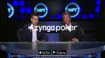 Zynga Poker TV Spot, 'WPT: Millions of Users' Featuring Tony Dunst, Vince Van Patten - Thumbnail 9